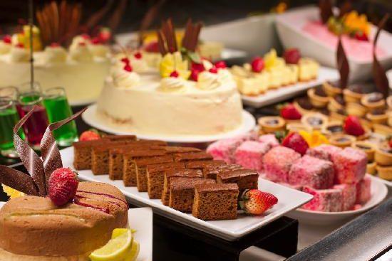 Dessert Buffet bij Restaurant Eetcafe Giethoorn