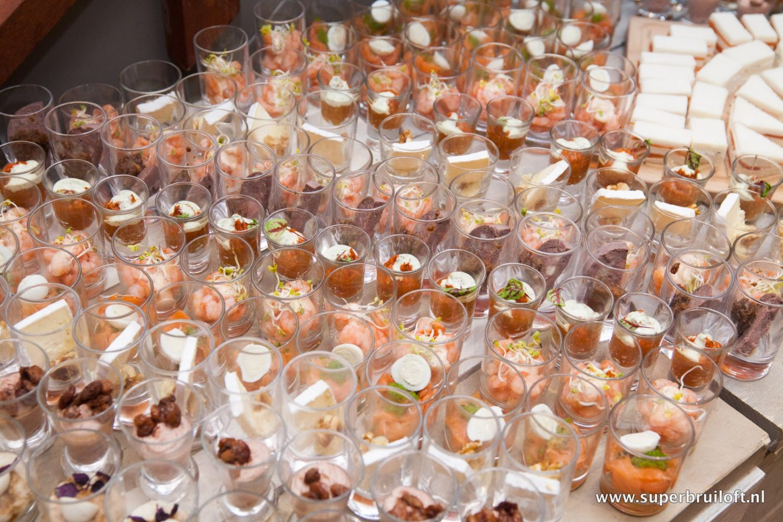 Hapjesbuffet bij Restaurant Eetcafe Giethoorn