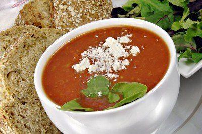 Tomatensoep bij Restaurant Eetcafe Giethoorn